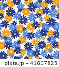 花 花柄 植物のイラスト 41607823