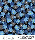 花 花柄 植物のイラスト 41607827