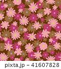 花 花柄 植物のイラスト 41607828