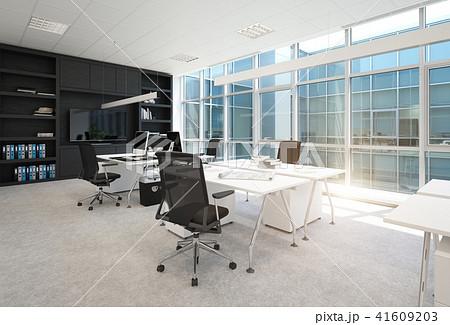 modern office interior. 41609203