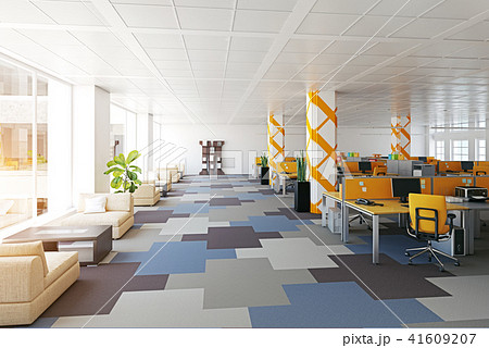 modern office interior. 41609207