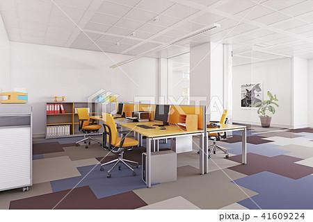 modern  office interior. 41609224