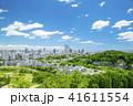 ビル群 新緑 春の写真 41611554