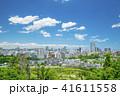 ビル群 新緑 春の写真 41611558