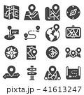 地図 ベクタ ベクターのイラスト 41613247