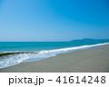 波打ち際 海 砂浜の写真 41614248
