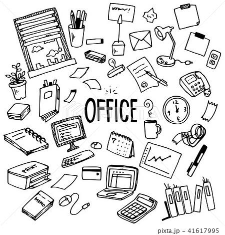 Office Illustration Pack 41617995