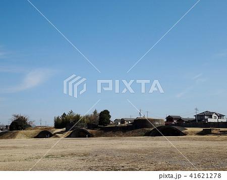 小牧基地の掩体壕と高射砲台跡 41621278