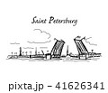 Drawbridge, symbol of Saint Petersburg 41626341