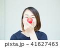 トマト 女性 人物の写真 41627463