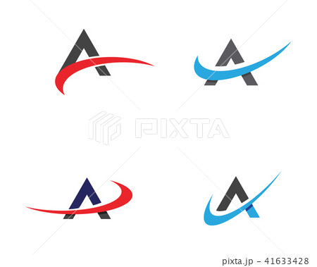 a letter logo business templateのイラスト素材 41633428 pixta