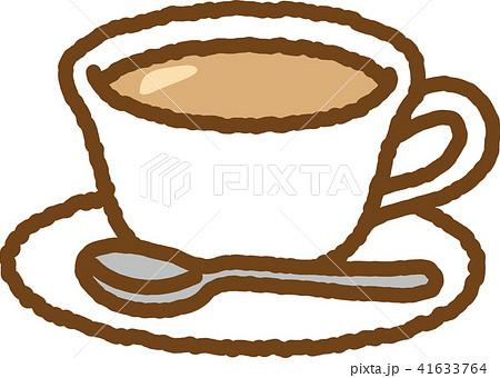 紅茶ミルクティーのイラスト素材 41633764 Pixta