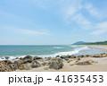 ロングビーチ 砂浜 ビーチの写真 41635453