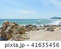 ロングビーチ 砂浜 ビーチの写真 41635456