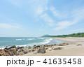 ロングビーチ 砂浜 ビーチの写真 41635458