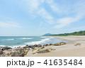 ロングビーチ 砂浜 ビーチの写真 41635484