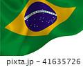 ブラジル  国旗 旗 背景  41635726