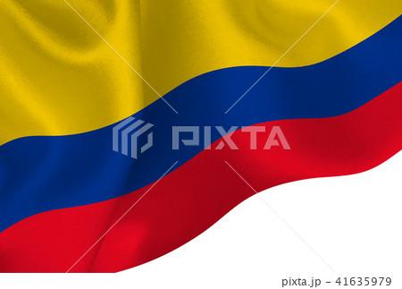 コロンビア  国旗 旗 背景  41635979