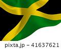 ジャマイカ  国旗 旗 背景  41637621