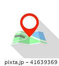 地図 pin ピンのイラスト 41639369