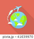 飛行機 フライト 飛行のイラスト 41639970
