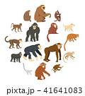 さる サル 猿のイラスト 41641083