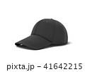 キャップ 帽子 立体のイラスト 41642215