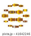 ベルト バックル アイコンのイラスト 41642246