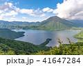半月山展望台から眺める中禅寺湖と男体山 41647284