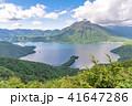 半月山展望台から眺める中禅寺湖と男体山 41647286