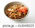 牛丼 ご飯 和食の写真 41649025