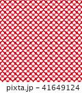 花菱 模様 和柄のイラスト 41649124