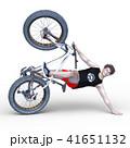 ファットバイクに乗る男性 41651132