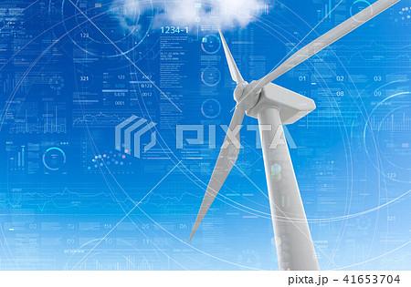 風力発電機 41653704