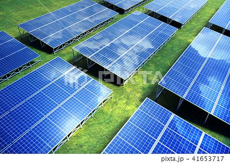 ソーラー発電 41653717