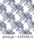 柄 サカナ 魚のイラスト 41654615