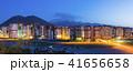 トルコ カイセリの街並み 山と住宅街 夜景 41656658
