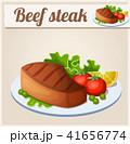 ステーキ ステーキ肉 牛ステーキのイラスト 41656774