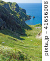 礼文島 海 風景の写真 41656908
