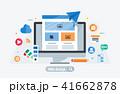 アイコン パソコン Webのイラスト 41662878