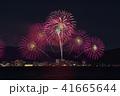 びわ湖大花火大会 夜景 花火の写真 41665644