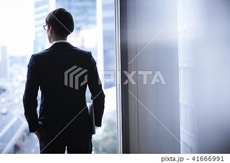ビジネスマン 仕事 41666991