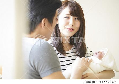 赤ちゃん 子育て 41667167