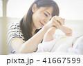 赤ちゃん 母子 母親の写真 41667599