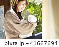 女性 赤ちゃん 母親の写真 41667694