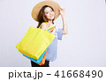 女性 ショッピング 41668490