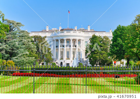 Washington, USA,The White House  South Lawn. 41670951