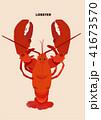 海老 エビ ロブスターのイラスト 41673570