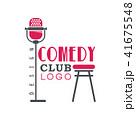 シンボルマーク ロゴ お笑いのイラスト 41675548