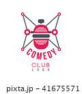 シンボルマーク ロゴ お笑いのイラスト 41675571